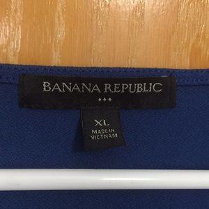 Banana Republic Tops - EUC Banana Republic blue top